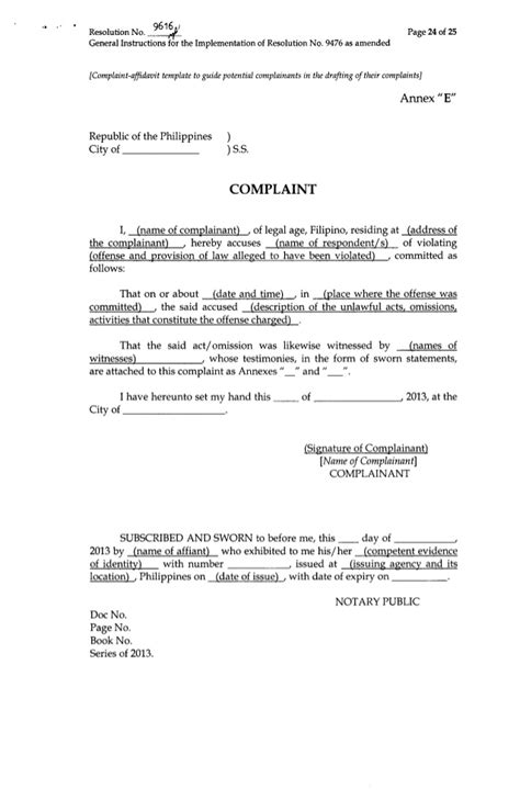 Sample Letter Of Complaint To Attorney General - Contoh 36
