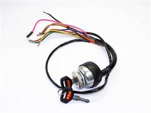 Lambretta Headset  Handlebar  Ignition Switch Dc Or Ac  Mb