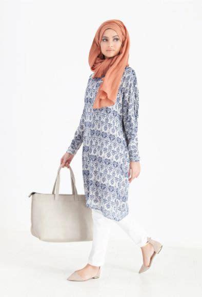 model baju kerja muslim modis modern  trendy terbaru