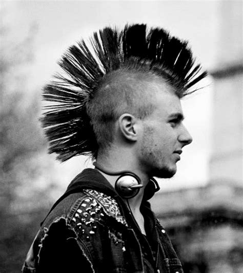 Mohawk Hairstyles Punk : Punk Hairstyles Ideas