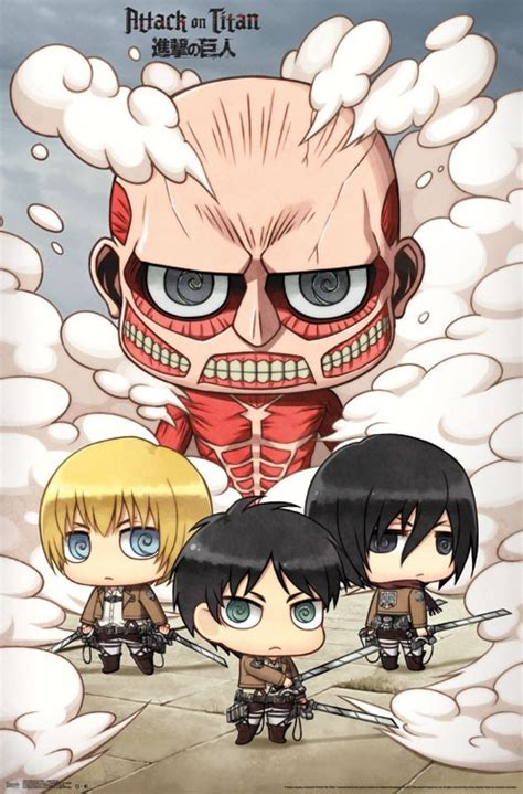 attack  titan chibi group