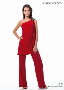 Pantalon De Soiree Chic : combinaison femme chic pour soir e c r monie pr t porter f minin marseille ~ Melissatoandfro.com Idées de Décoration