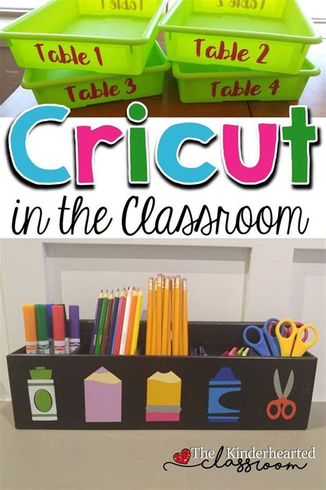cricut   classroom great ideas tips