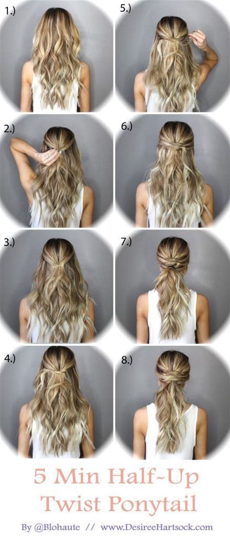 minute   ponytail twist pictures