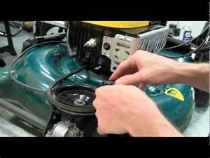 Lawnmower Repair Pt  1  Replacing The Drive Belt
