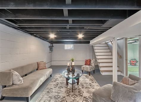 Ideas For Unfinished Basements by 11 Doable Ways To Diy A Basement Ceiling For The Home