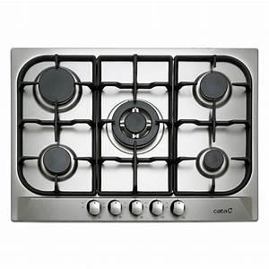 Plaque De Cuisson 5 Feux : plaque de cuisson gaz 5 foyers inox cata apelson l705ti ~ Dailycaller-alerts.com Idées de Décoration