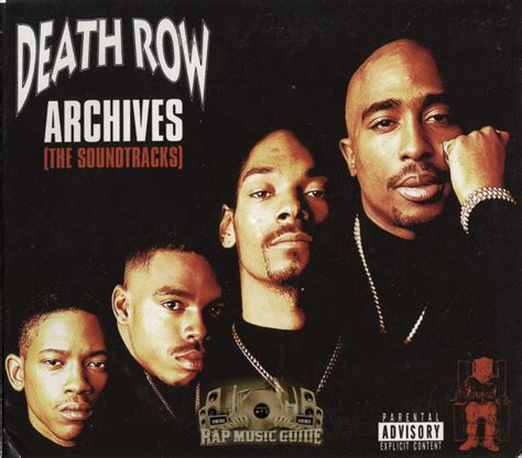 row death archives soundtracks records cd label record rap music