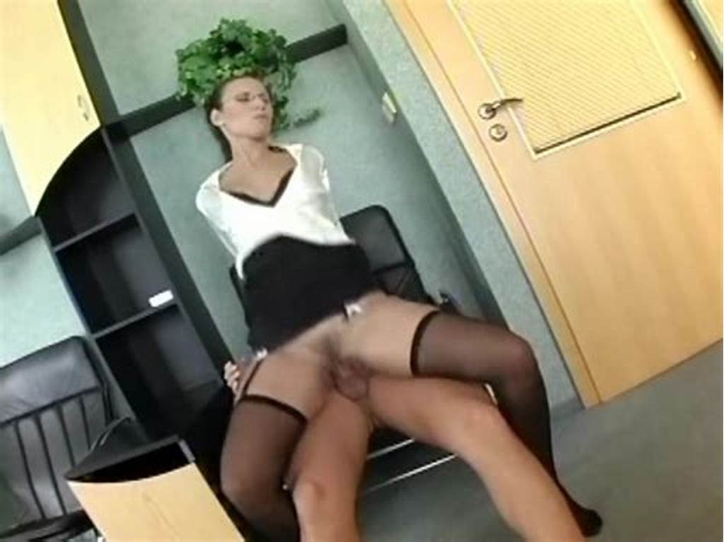 #Nerdy #Secretary #In #Lingerie #Fucking #At #The #Office