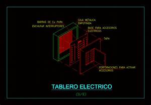 Isometric Electric Board In Autocad