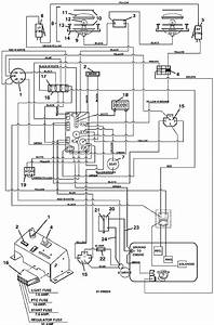 The Mower Shop  Inc Wiring Diagram 220 225 2000 2001