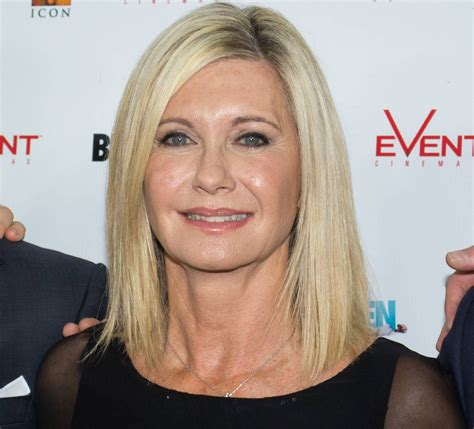 Olivia Newton John Fighting Recurrent Breast Cancer