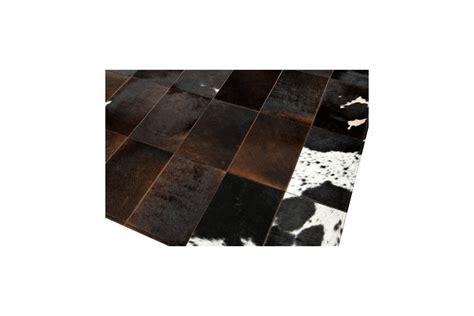 Patchwork Cowhide by Patchwork Cowhide Rug Rustic Redish K 130 Fur Home