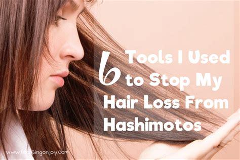 tools    stop  hair loss  hashimotos