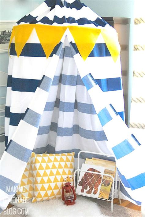 how to make a canopy make a diy no sew play canopy tent in an hour