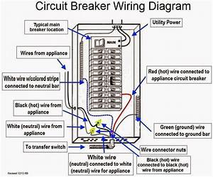 Three Phase Circuit Breaker Wiring Diagram