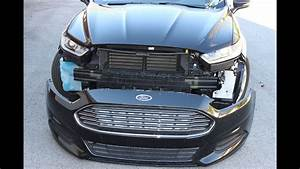 Ford Fusion Front Bumper Cover Removal  2013    Second