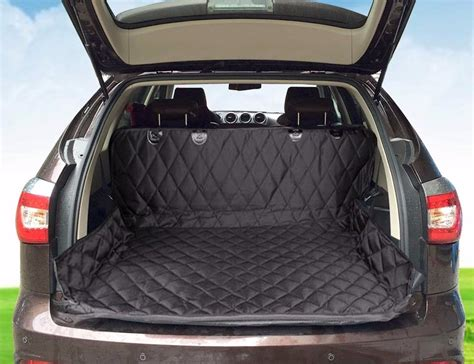 Ride Comfortably With This Suv Car Trunk Mat For Pets