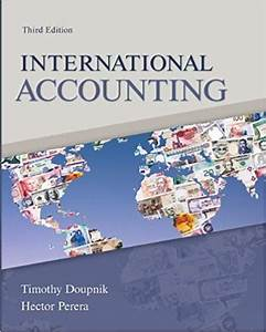 Test Bank For International Accounting  3  E By Timothy