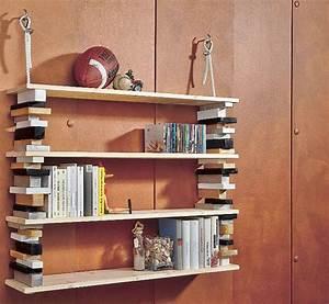 Wandregal Selbst Gestalten : regal aus holzkl tzen selber bauen selbstgemacht magazin ~ Lizthompson.info Haus und Dekorationen