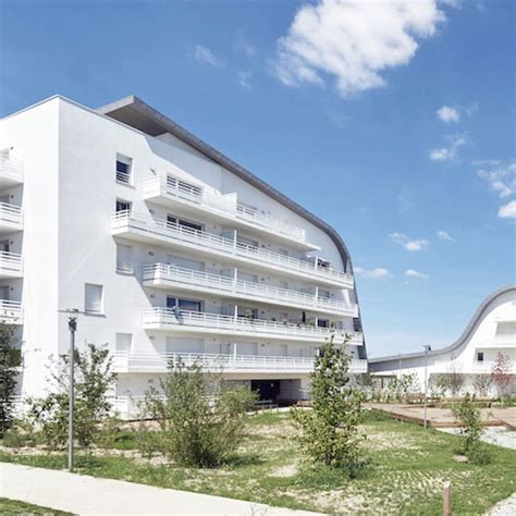 bureau architecte qu饕ec 50 logements bellecour architectes