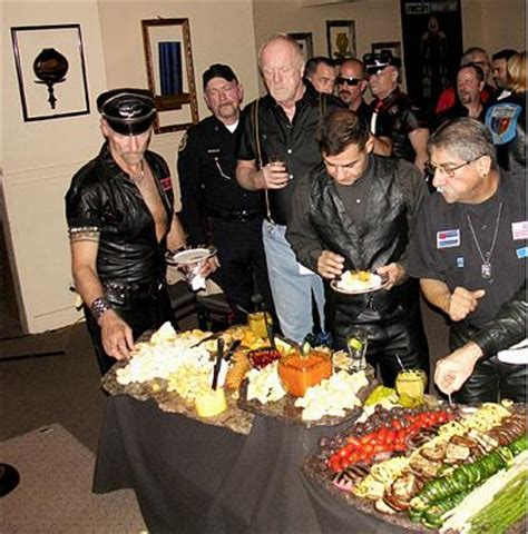 Mr Tool Shed Palm Springs by Mr Palm Springs Leather Dinner November 13 09