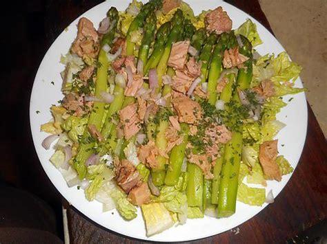 recette de salade d asperges vertes au thon