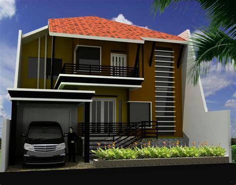desain rumah    dua lantai desain interior surabaya