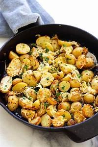 Italian Roasted Potatoes Easy Delicious Recipes
