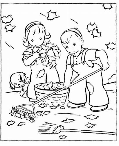 Coloring Pages Fall Autumn Printable