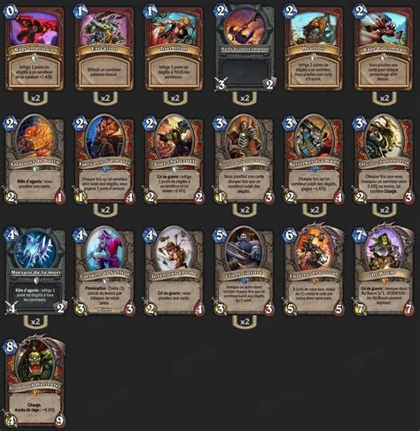 hearthstone deck type definitions 17 best ideas about hearthstone deck guerrier on