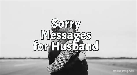 messages  husband  apology quotes wishesmsg
