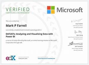 Microsoft Certification For Data Analyst Resume Generator ...