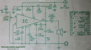 7w Audio Amplifier Based Tba810