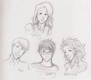 Harry Potter character sketch3 by kaseyu on DeviantArt