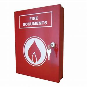 a4 fire document box fire products direct With fire alarm document cabinet