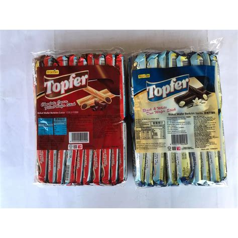 7g x 40pcs Frontier Topfer Wafer Stick [Chocolate cream ...
