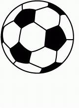 Soccer Coloring Balls Printable Popular sketch template