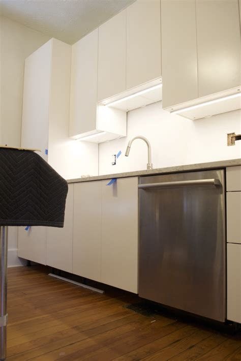 Ikea Cabinet Lights - tips for installing ikea cabinet lighting the