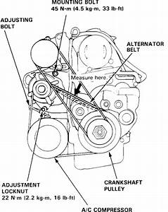 How To Replace Serpentine Belt On Your Accord 1993