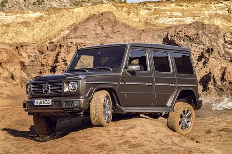 Mercedesbenz Gclass 2018 Revealed  Car News Carsguide