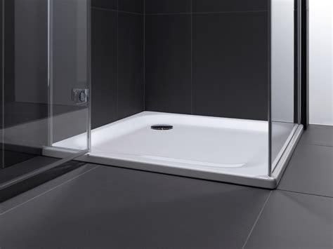 rechteck duschwanne superflach  cm mit wannentraeger
