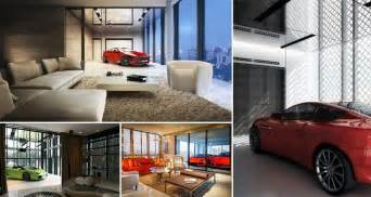 Super Luxury Singapore Apartment With In-Room Car Parking : In These Luxury Condos You Can Actually Park Your Car Next