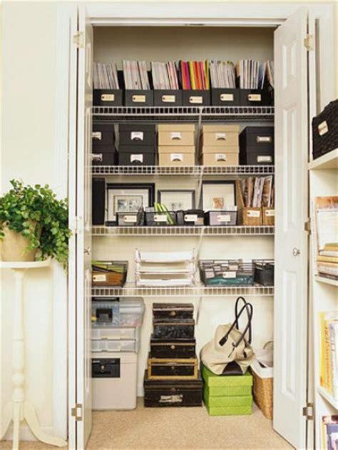 Closet Home Office, Office Supply Closet Organization
