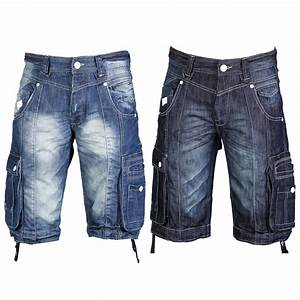 Mens Denim Cargo Shorts Sale - Hardon Clothes