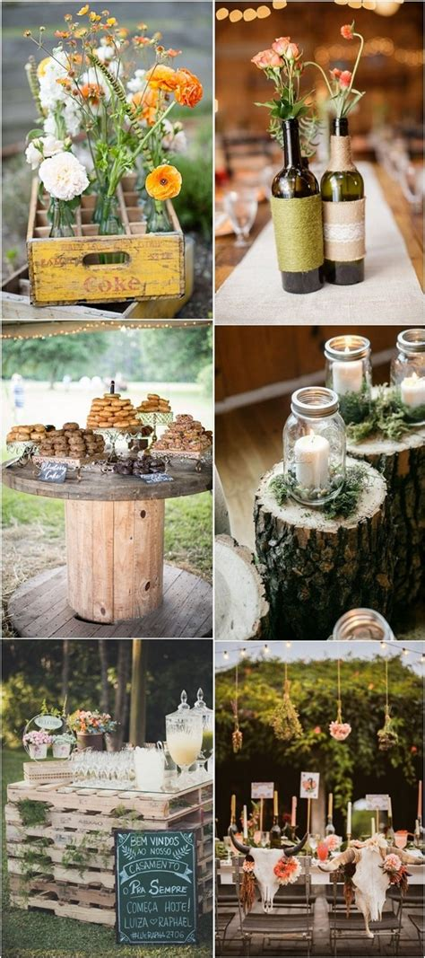 Country Backyard Wedding Ideas - country rustic backyard wedding trends ideas deer