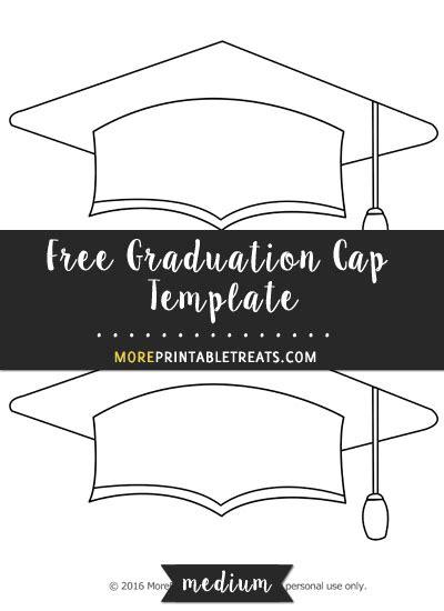 top of graduation cap template free graduation cap template medium shapes and