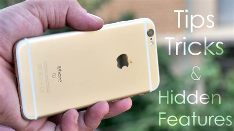 features of iphone 6s iphone 6s tips tricks features