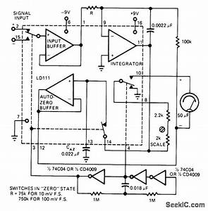 Dvm Ic Drives Meter - Power Supply Circuit