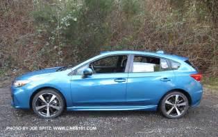 2017 Subaru Impreza Hatchback Blue Pearl Island